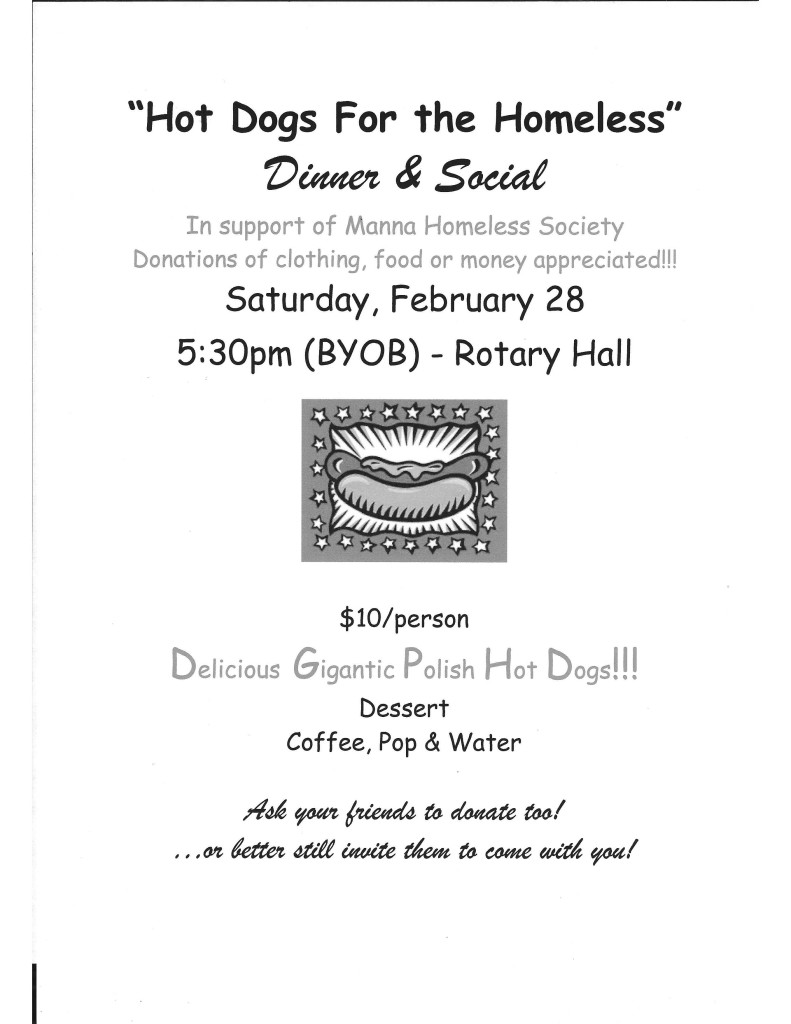 Hotdogs for the Homeless Poster